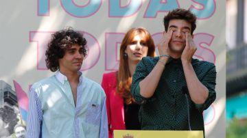 Los creadores de la serie Veneno, Javier Calvo y Javier Ambrosi.
