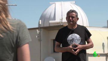 """La crítica del observatorio astronómico de Borobia a la mina: """"Viene a extraer recursos, no a poner valor en el pueblo"""""""
