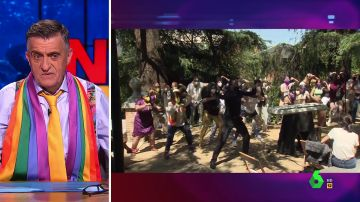 El análisis de Wyoming tras ver la haka del acto del Ministerio de Igualdad por el Día del Orgullo LGTBI