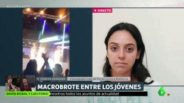 """Habla una joven contagiada de COVID en el macrobrote de Mallorca: """"Comentábamos de broma que podíamos coger el virus, hemos sido irresponsables"""""""