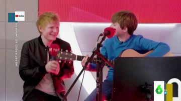 Ed Sheeran sorprende a un fan de 10 años