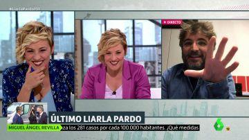 Cristina Pardo y Jordi Évole