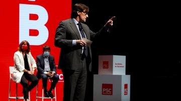 Salvador Illa, líder del PSC
