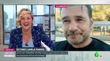 "La graciosa confesión de Iñaki López a Cristina Pardo: ""Te veo más que a Andrea Ropero"""