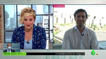 """El dardo de Cristina Pardo a Pablo Montesinos por entrar en el PP: """"Te has pasado al lado oscuro"""""""
