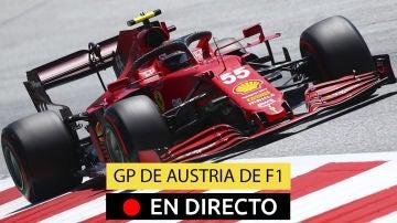 Carlos Sainz, en la clasificación del GP de Austria