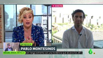"""Cristina Pardo pone contra las cuerdas a Pablo Montesinos (PP): """"Aznar acercó a más de 400 presos de ETA"""""""