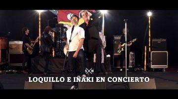 El épico dueto de Iñaki López y Loquillo cantando 'Feo, fuerte y formal'