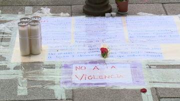 Homenaje en Coruña al joven asesinado en plena calle