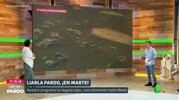 Plató de Liarla Pardo con Luis Troya y Roberto Brasero