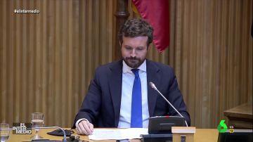 Vídeo manipulado - Diputados del PP aplauden constantemente a Pablo Casado para apoyarle durante un discurso