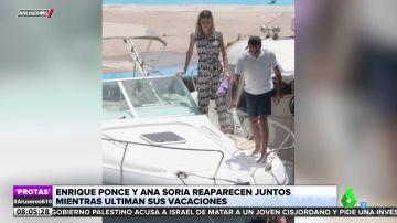 Enrique Ponce y Ana Soria reaparecen tras la retirada del torero y los rumores de crisis