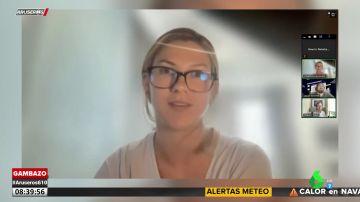 El percance de una joven durante una videollamada con sus jefes y compañeros de trabajo