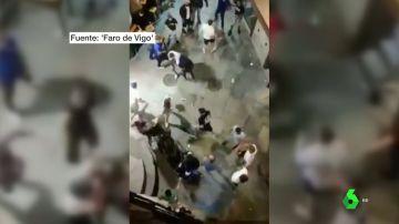 pelea en Ourense