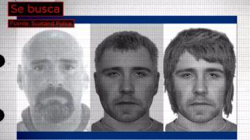 Imagen difundida por la policía de Escocia para tratar de encontrarle