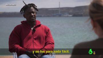 El terrible viaje Camil tras abandonar Costa de Marfil por Europa: pagó 2.500 euros por un viaje en el que casi muere