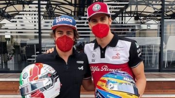 Alonso y Giovinazzi