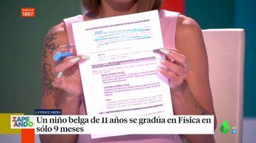 Lorena Castell y María Gómez desvelan cómo es el guion de Zapeando en pleno directo
