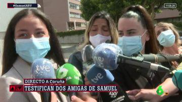 """Las amigas de Samuel dicen estar """"contentas"""" con la investigación y llaman a la gente que tenga pruebas a ir a la Policía"""
