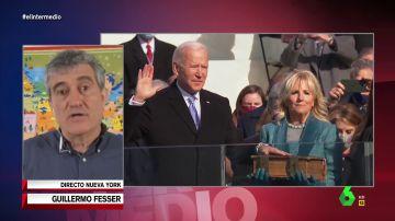 """Guillermo Fesser analiza a Joe Biden: """"Ha sido capaz de decirle a los estadounidenses que este país no lo ha creado Wall Street, sino la clase media"""""""