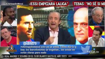 """Pedrerol: """"Con Messi gana la Liga y el Madrid"""""""