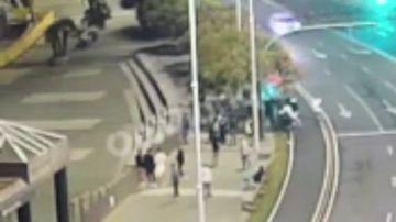 El vídeo de la paliza mortal a Samuel Luiz en A Coruña