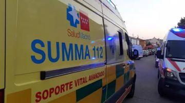 Imagen de una ambulancia del SUMMA 112