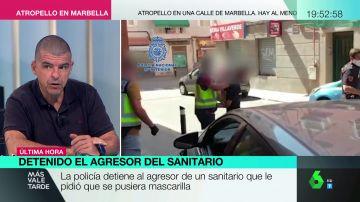 El agresor de un sanitario en el metro de Madrid estaba preparando su huida y ya se había teñido el pelo