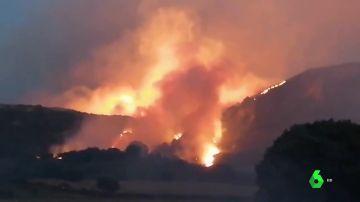 Incendio en Yerga