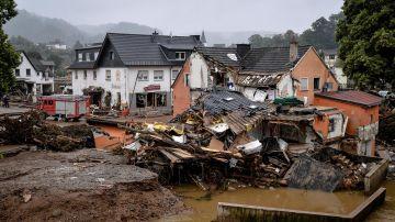 Daños tras las inundaciones en Alemania