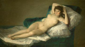 Retrato de la 'maja desnuda', de el Museo del Prado