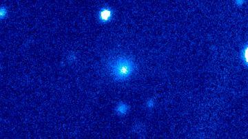 Detectan señales de actividad en el cometa más grande jamás registrado: su tamaño triplica el del Hale-Bopp