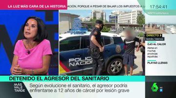 Estas son las penas a las que se podría enfrentar el agresor de un sanitario en el Metro de Madrid