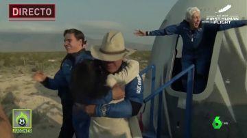 Vídeo en directo: Jeff Bezos viaja al espacio en la nave New Shepard con Blue Origin, streaming hoy