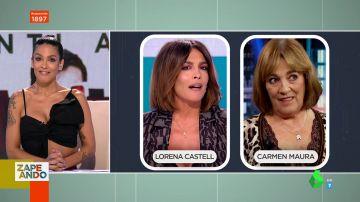 Desde María Teresa Campos hasta Carmen Maura: los divertidos parecidos que los espectadores sacan a Lorena Castell
