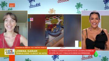 Ser cliente de un hotel todo el verano cobrando 4.000 euros: así es el trabajo de la influencer Lorena Garam en Huelva
