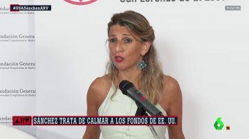 La vicepresidenta segunda Yolanda Díaz