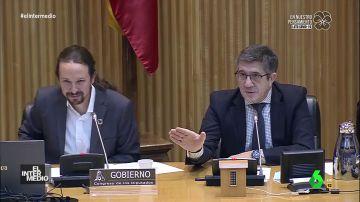 """La verdadera conversación entre Iglesias y Espinosa de los Monteros en su rifirrafe en el Congreso: """"Usted sale de aquí afeitado"""""""