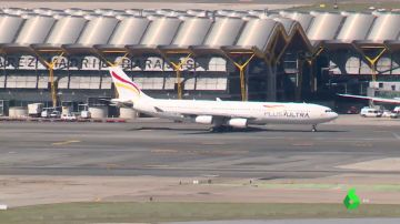 Avión de la aerolínea Plus Ultra