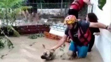 Imagen de las inundaciones en Turquía