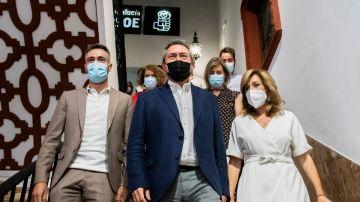 Juan Espadas, proclamado nuevo secretario general del PSOE de Andalucía