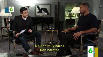 Iñaki López desvela lo que le dijo Will Smith sobre Pablo Motos en su entrevista en laSexta Noche