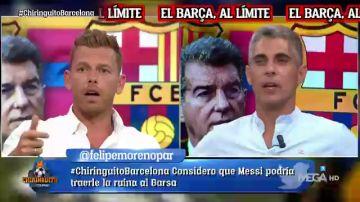 ¿Debe LaLiga ayudar al Barça a inscribir a Messi? Brutal cara a cara entre Jota Jordi y José Luis Sánchez