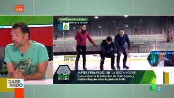 Desde el halago de Will Smith hasta el día que patinó con Javier Fernández: los mejores momentos de Iñaki López en laSexta Noche