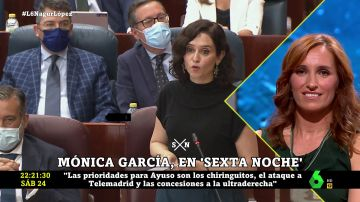 MÓNICA GARCIA Y AYUSO RELACIÓN PERSONAL