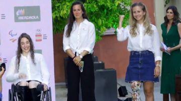 Deportistas paralímpicas españolas