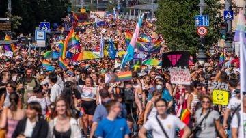 Manifestación del Orgullo en Hungría