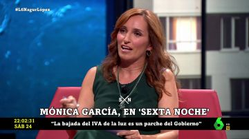 Mónica García en laSexta Noche