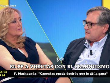"""El encontronazo entre Paco Marhuenda y Elisa Beni en laSexta Noche: """"Ya basta"""""""