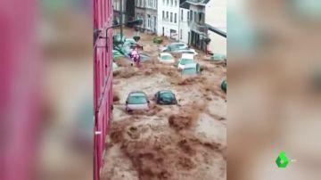 Inundaciones en Bélgica